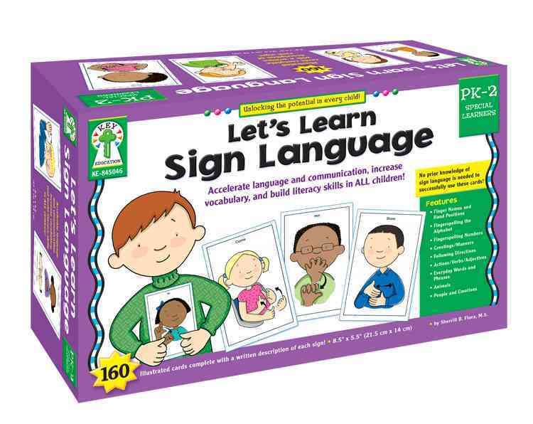 Let's Learn Sign Language, Grades PK - 2 By Flora, Sherrill B.
